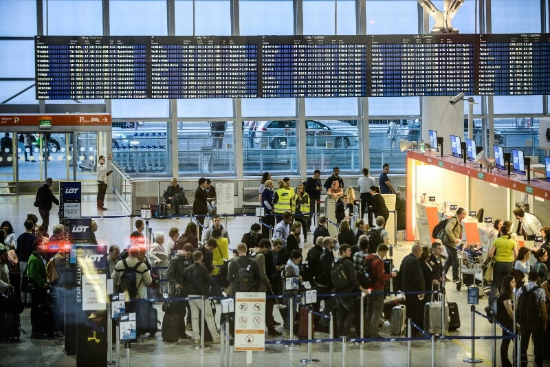 аэропорт Варшава