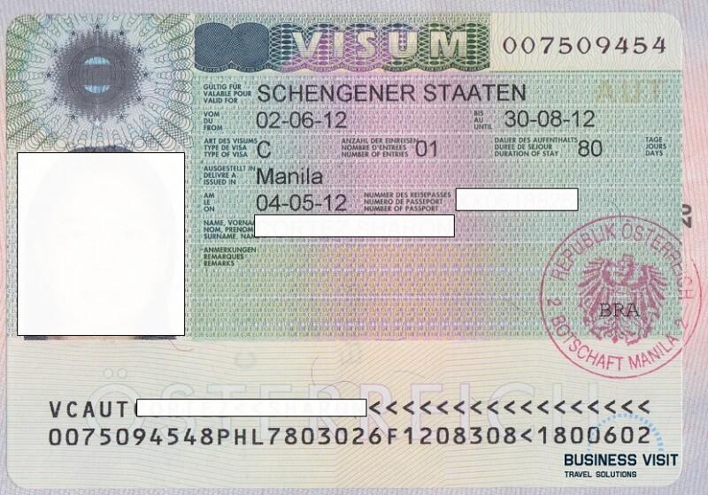 Шенгенская виза в Австрию - фото, 2014, турагентство «Бизнес Визит»