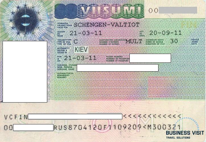 Шенгенская виза в Финляндию, 2014, турагентство «Бизнес Визит»