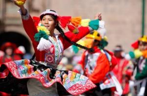 свято Нового року в Перу