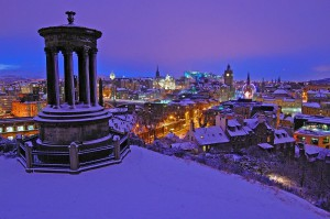 новогодний Эдинбург, Шотландия