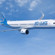 Airbus A321neo впервые поднялся в небо