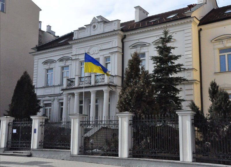 посольство України за кордоном