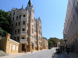 Замок Річарда Левове серце на Андріївському узвозі
