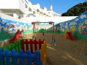 дитячий майданчик готелю Delphin El Habib Resort, Монастір