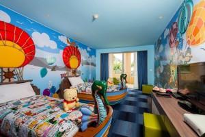 детские комнаты в отеле, Таиланд