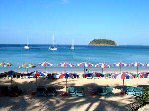 пляжная зона отеля