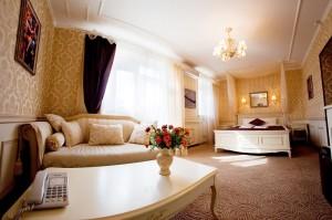 номер в готелі Оселя, Київ