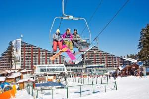 лыжные спуски в Болгарии