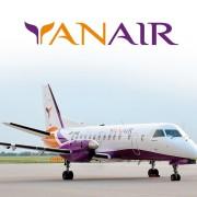 Авиакомпания Yanair: еще 5 регулярных рейсов