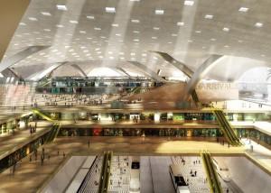 главный аэропорт Катара в Дохе