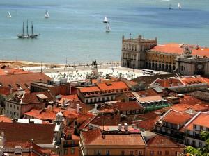 порт в Лиссабоне
