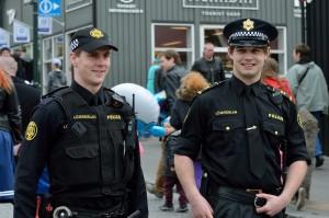 полиция в Исландии