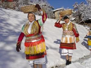 зима в Македонии