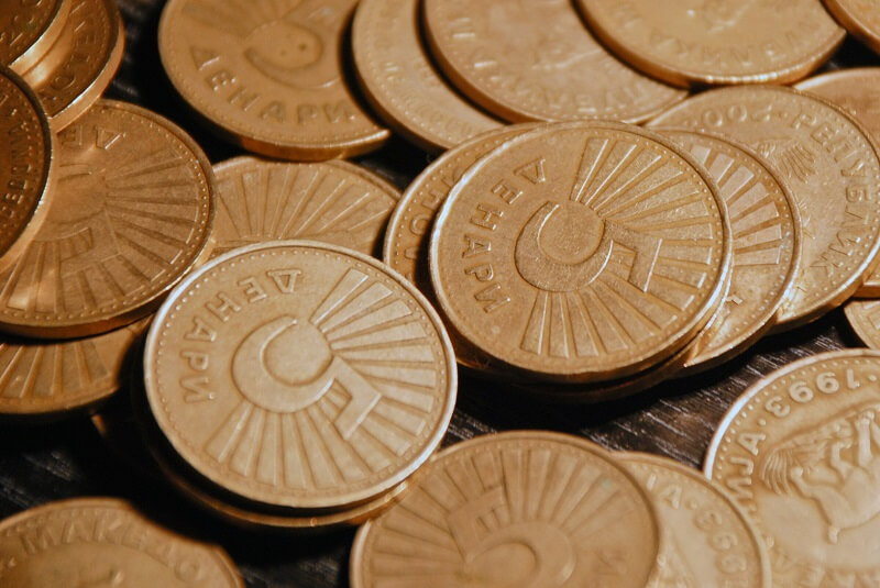 валюта Македонии