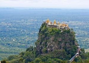 гора Попа в Бирме