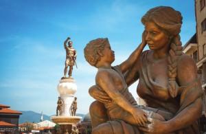 памятники Македонии