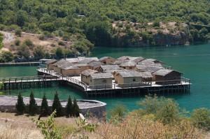 музей на воді в Охриді