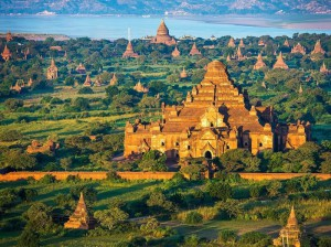 раскопки Баган в Мьянме