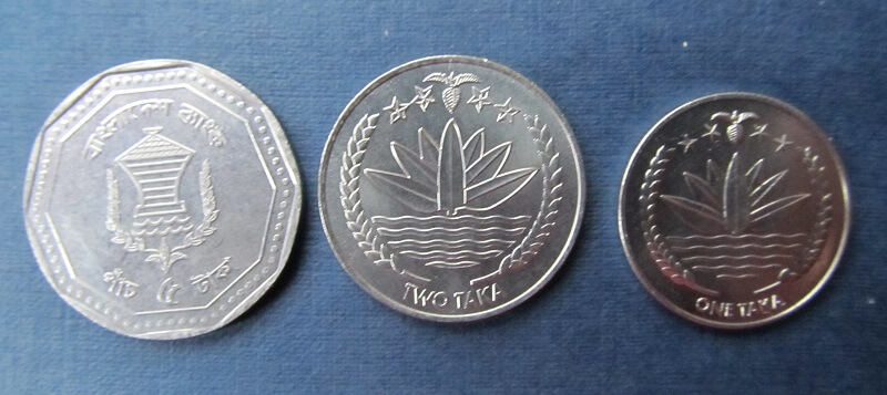 монеты Бангладеш