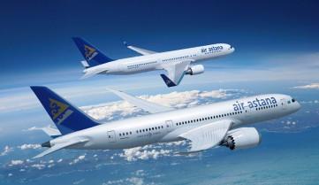Air Astana будет летать Киев-Алматы ежедневно