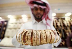 золотые украшения в Саудовской Аравии