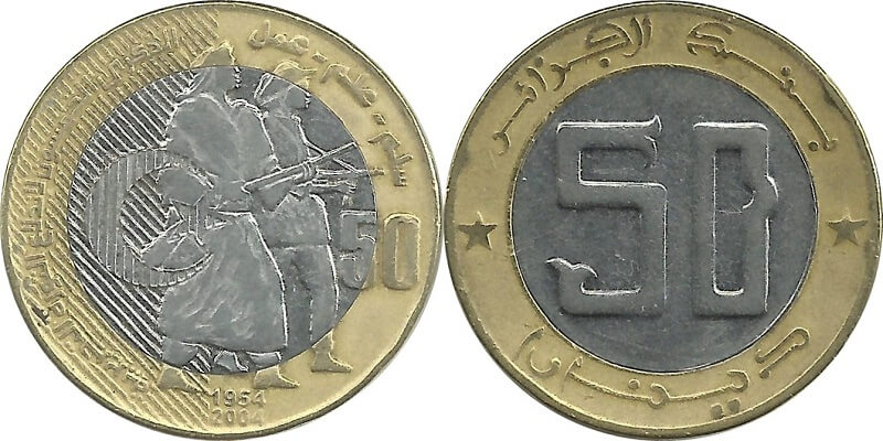 монеты Алжира