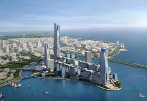многоэтажки Садовской Аравии