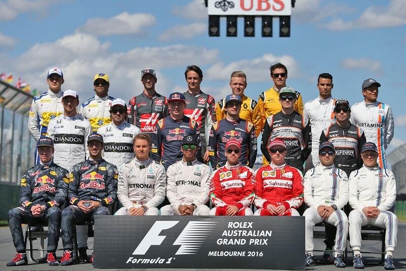 команды Формулы-1 2016