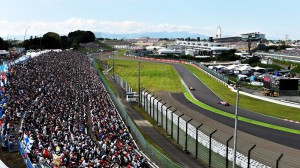 трибуни в Японії, Формула-1