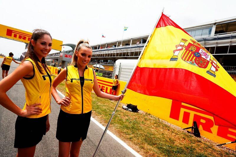 соревнования F1 в Испании