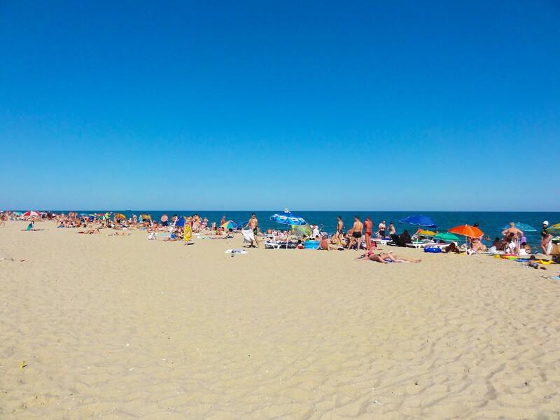пляжи в Затоке