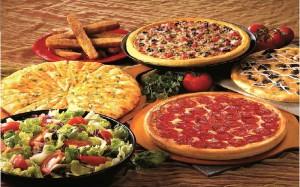 Блюда в итальянском ресторане