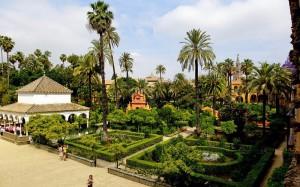 Живописные пейзажи Алькатраса Севильского (Испания)