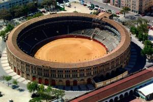 Арена Миэрин (Испания): вид сверху