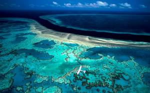 барьерный риф в Австралии