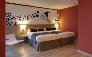 номер а отеле Sporting  в Андорре
