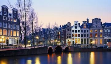 Авиаперелет в Амстердам из Киева Бизнес Визит
