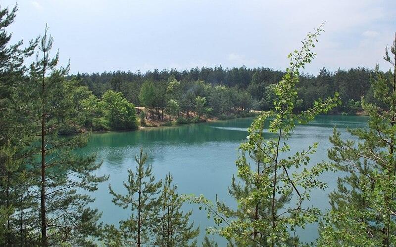Блакитні озера в Чернігівській області