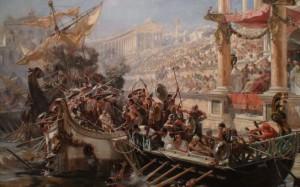 морское сражение в Амфитеатре