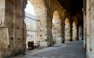 арки в Римском Колизее