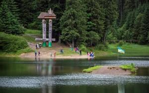 отдых на озере Синевир