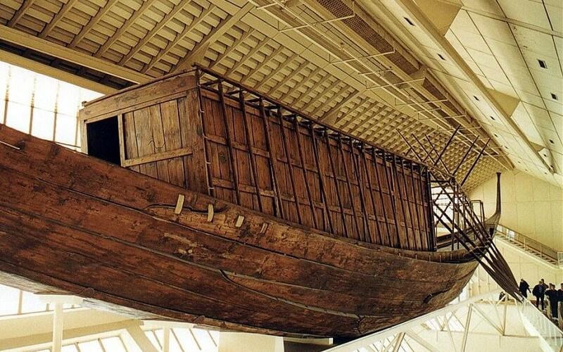 Солнечная лодья фараона Хеопса