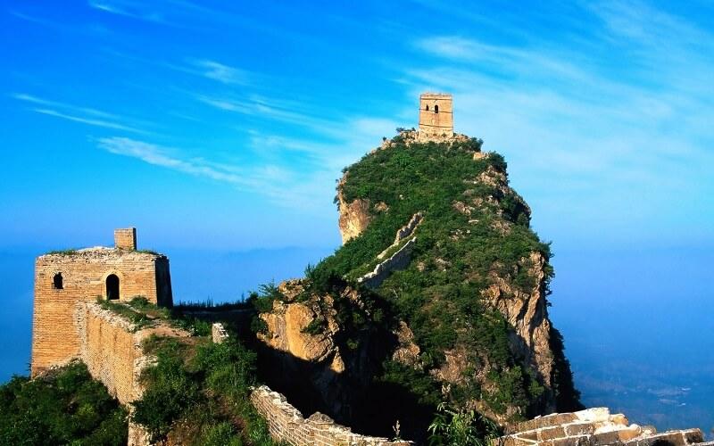 початок Великої Китайської стіни