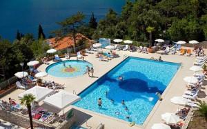 бассейны в Allegro Hotel 3*, Рабац, Хорватия