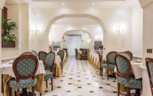 ресторан в готелі Arhimede Hotel 4*, Рим, Італія