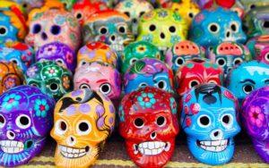 черепа в Мексике