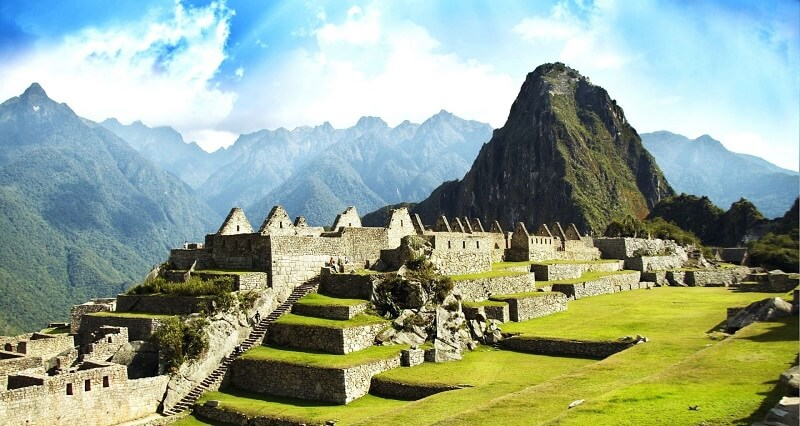 строения Мачу Пикчу