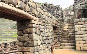 каменные глыбы Мачу Пикчу