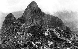 Мачу Пикчу в начале 20 века
